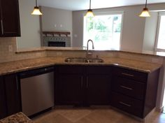 Kitchen done by True built home