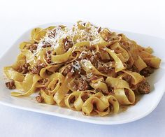 Tagliatelle with Quick Lamb Sugo by Fine Cooking