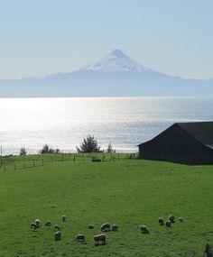 Sur de Chile: Frutillar y lago Llanquihue: Actitud y alegría.