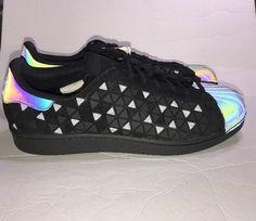 61aa186a621 adidas Mens 11 Superstar XENO AQ8184 Black Casual Lifestyle Shoes