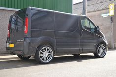 "Judd Wheels on vans Vauxhall Vivaro with 20"" Judd TX18. http://www.turrifftyres.co.uk"