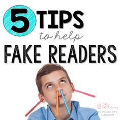 5 Tips for Reading Teachers