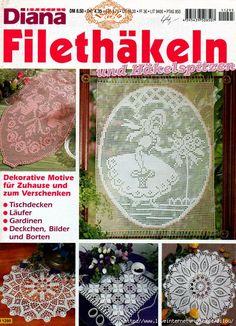 Diana Filethakeln D1295 Cалфетки крючком. Обсуждение на LiveInternet - Российский Сервис Онлайн-Дневников