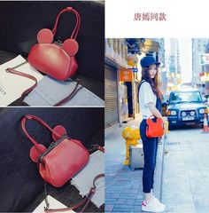 ca52bbca6d Mickey high quality PU leather shoulder bag Price  29.36  amp  FREE  Shipping  mickeymouse