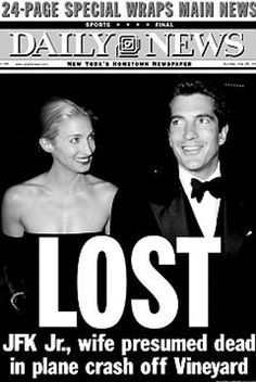 jfk jr. death newspaper headlines