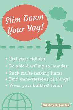 packing tips - part time traveler