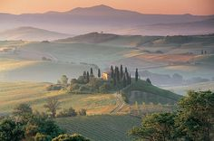 Pienza, Italy - such a classic view!