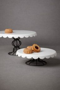 Patisserie Cake Stands- so perfect for little pastries!