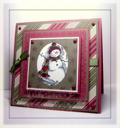 Holiday Thyme Snowman