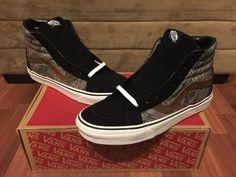 3adce59438 Vans Sk8 Hi Reissue Size 11 Snake Camo Black Bison NIB Authentic Classics  OTW  VANS  Skateboarding