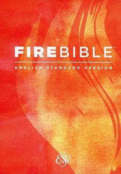 Fire Bible ESV Version, hardcover  -