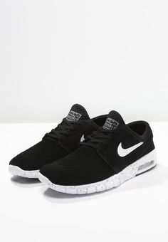 Nike SB STEFAN JANOSKI MAX - Baskets basses - black/white - ZALANDO.BE
