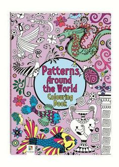 Patterns from Around the World Colouring Book