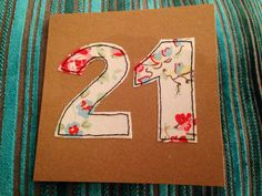 Cath Kidston Cath Kidston papers 21 birthday by LukannaDesigns 21st Birthday Cards, 21 Birthday, Cath Kidston Fabric, Diy Cards, Handmade Cards, Presentation Cards, Raw Edge Applique, Scrapbook Cards, Scrapbooking