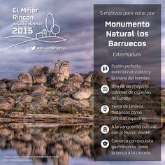 5 motivos para votar por el Monumento Natural los Barruecos (Extremadura) para que se convierta en El Mejor Rincón 2015
