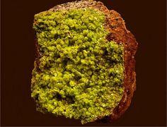 autunite (PS it is radioactive)