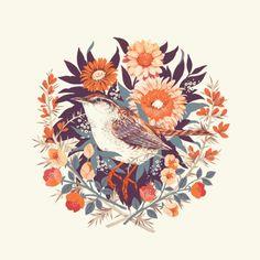 Wren Day Art Print by Teagan White | Society6