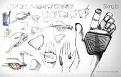 Skrub | Paintbrush Cleaner on Industrial Design Served