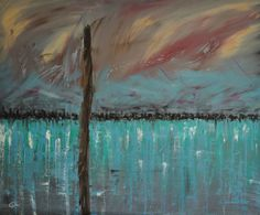Kalochori Oil on canvas, 120 x 140, August 2011 Created by Philippe Laferriere
