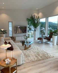 Dream Home Design, Home Interior Design, Interior Architecture, Interior Decorating, House Design, Home Living Room, Apartment Living, Living Room Designs, Living Room Decor