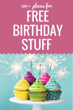Free Birthday Stuff Getting free stuff for my birthday is one of my favorite things about my birthday month. Here is over 120 places to get FREE Birthday Stuff! Free Birthday Dinner, Free On Your Birthday, Birthday Bar, Classroom Birthday, Birthday Stuff, Birthday Dinners, Birthday Ideas, Happy Birthday, Birthday Month Flowers