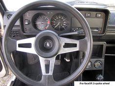 Golf GTI MK1 3 spoke steering wheel