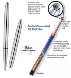 Holiday Gift Guide 2013 – The Male Traveller - Space Pens!