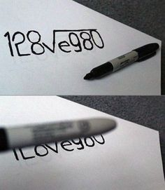 Probably one of the easiest ways to tell someone you love them