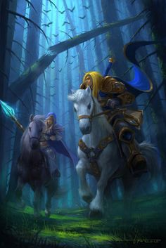 Jaina & Arthas #Warcraft