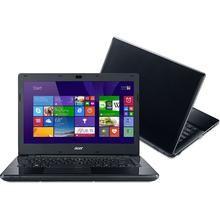 "Notebook Acer Intel Core i3-4005U 4GB RAM HD 500GB E5-471-30AQ Tela 14"" Windows 8.1"