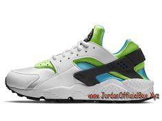 quality design 78dbb d6425 Nike Wmns Air Huarache Run Anthracite 634835-100 Femme enfant Nike Officiel  urh Blanc