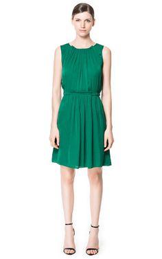 GATHERED DRESS - Dresses - Woman | ZARA United States
