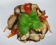 Healthy, baked Ratatouille recipe