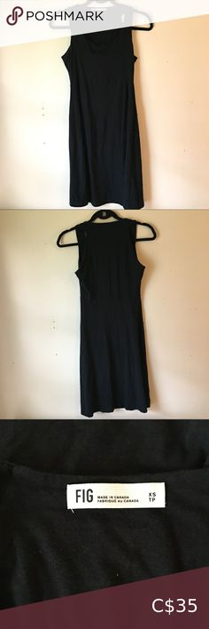 🍓BOGO Fig black dress casual cotton bamboo In good used condition. Confortable to lounge. Measurements laying flat: armpit to armpit: 16 inches length: 37 inches Smoke and pet free home. Bundle two items or more for a private offer!! Fig Dresses Calvin Klein Bikinis, Lace Kimono, Tommy Hilfiger Sweater, Hoodie Dress, Dress And Heels, Dress Casual, Blue Dresses, Bamboo
