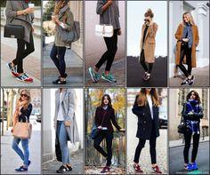 new balance style - tenis - street style - nick na europa