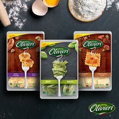 The secret behind the smooth and tender texture of Olivieri® products? Our pasta sheets are simply made with water, flour and eggs. AND, if you freeze our products before the Best Before Date, they can be stored up to a year.