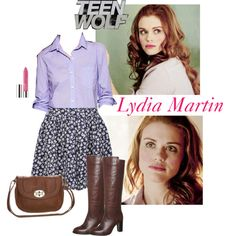 Lydia Martin 4x03 inspired outfit by kirsty-x-rose on Polyvore featuring Gap, Neon Rose, Taupage, even&odd and Clinique