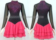 big size latin competition dance clothes,Inexpensive latin dance garment:LD-SG84