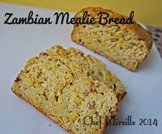 Zambian Mealie Bread - The Schizo Chef aka Chef Mireille - African Food Zambian Food, Heritage Recipe, Around The World Food, Nigerian Food, Food Challenge, World Recipes, International Recipes, Bread Baking, Eat