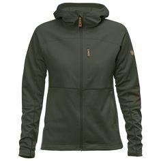 Fjällräven Buck fleece jacket dark olive