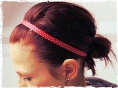 Nähen, Schönheiten des Augenblicks und Leben: Haarband selbst gemacht