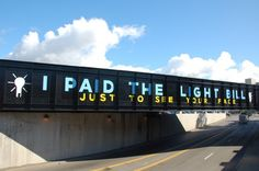 I paid the light bill just to see your face - Steve Powers