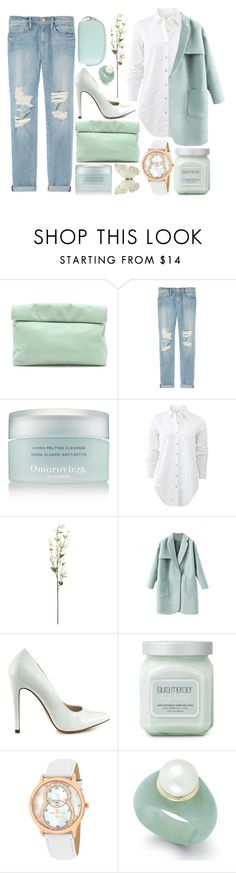 """MINTY"" by strayalley ❤ liked on Polyvore featuring mode, Marie Turnor, Frame Denim, Omorovicza, rag & bone, Michael Antonio, Laura Mercier, Christian Van Sant et Hadaki"