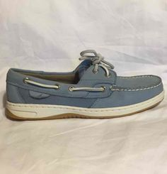 1c4bdd03c5e8f9 Sperry Bluefish 2 Eye Boat Shoes Blue Lake Casual Dock Loafer Flat 9767708  NEW 7