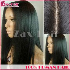 Silk top lace front wig virgin human hair silk top full lace wigs Yaki straight 150 natural hairline 6A bleached knots baby hair