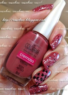 esmalte Colorama rosa antigo