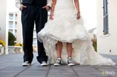 Anyone that knows me, knows I would wear converse at my wedding. <3