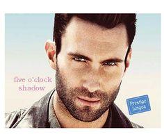 >>five o'clock shadow<<  - to ten zarost na brodzie, który zdąży urosnąć panom od porannego golenia do popołudnina