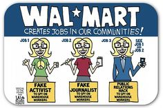 Walmart breaks up with PR firm that employed fake reporter/spy. #crisiscomms
