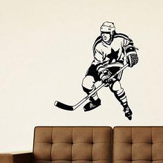 Wall Decal Vinyl Sticker Gym Winter Sport Ice Hockey Player Sb650 ElegantWallDecals http://www.amazon.com/dp/B012DSPZC4/ref=cm_sw_r_pi_dp_e-iYvb1ZYCXT1